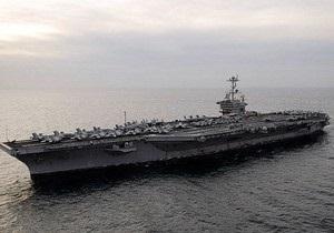 Авианосец США освободил захваченное пиратами иранское судно