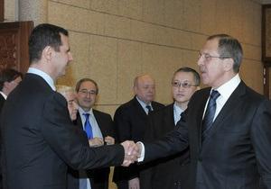 США призывают Москву повлиять на Асада