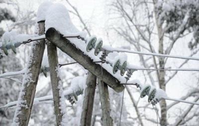 В Украине непогода оставила без света 300 сел