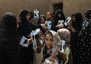 В Афганистане убиты пять человек из команды женщины, баллотирующейся в депутаты