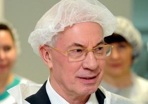 Азаров пообещал проверить информацию о покупке джакузи для МВД