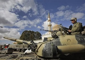 СМИ: Британский спецназ может взять под свой контроль химическое оружие в Ливии