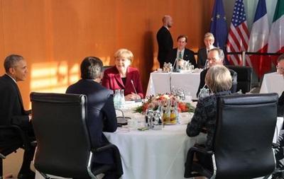 Обама и лидеры ЕС сохранят санкции против России