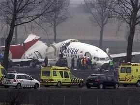 На борту упавшего в Амстердаме самолета украинцев не было