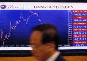 Азиатские рынки упали в ожидании новостей из Китая