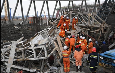 В Китае обрушилась электростанция: 40 погибших