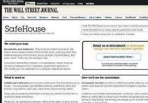 The Wall Street Journal запустила аналог WikiLeaks