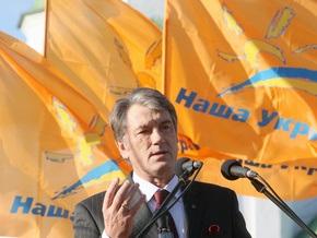 Ющенко поручил обеспечить охрану кандидатов в президенты