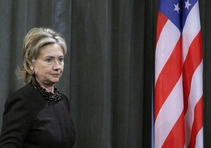Клинтон: Москва толкает Сирию к гражданской войне