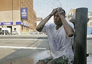 В некоторых штатах США объявлена тревога в связи с жаркой погодой