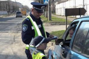 В Луцке семилетний мальчик работал инспектором ГАИ