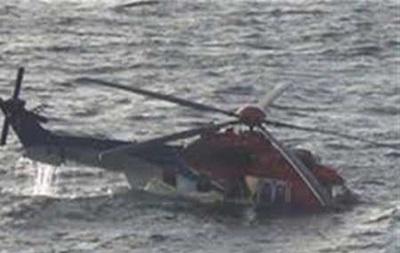 В Иране вертолет упал в Каспийское море: пять жертв