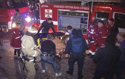 Пожар во Львове: полиция объявила подозрение директору клуба