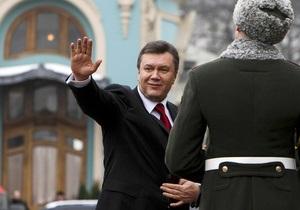 Янукович отправился в Казахстан