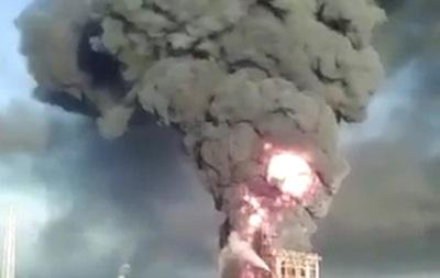 В Италии произошел взрыв на нефтезаводе