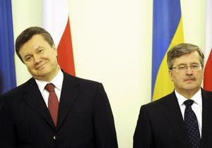 Коморовский подарил Януковичу гуцульских лошадей (обновлено)