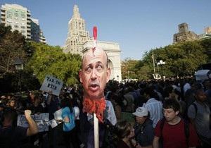Чавес назвал  ужасными репрессиями  подавление акций на Уолл-стрит