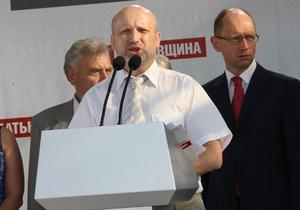 Батьківщина готова снять своих кандидатов в Киеве и области в пользу партии Кличко