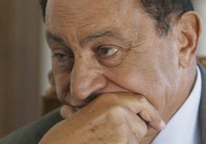 Свергнутый лидер Египта Мубарак намерен написать мемуары