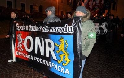 «Смерть украинцам»: вПольше прошел «Марш орлят перемышльских ильвовских»