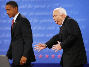 Маккейн резко сократил отрыв от Обамы