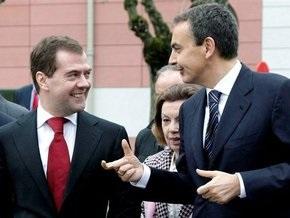 Премьер Испании выругался в присутствии Медведева