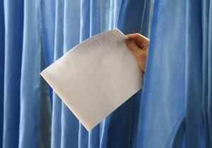 В Украине закрываются избирательные участки