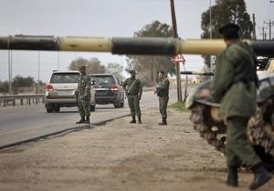 Войска Каддафи установили контроль над частью Мисраты