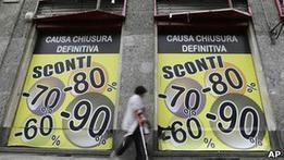 Еврозона вновь погрузилась в рецессию