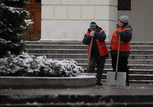 В выходные Киевавтодор будет убирать улицы от снега