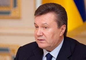 Янукович обратился к украинцам в связи с Днем скорби