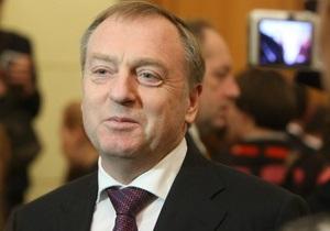 Азаров предложил Януковичу уволить Лавриновича с поста министра юстиции