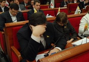 В Блоке Черновецкого считают, что на заседании Киевсовета должен отчитаться весь состав КГГА