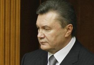 Янукович: Украина не должна делать выбор в пользу одной системы коллективной безопасности