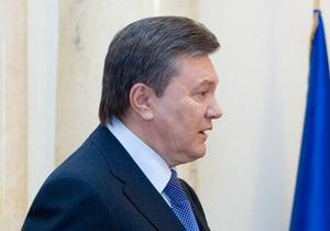 Янукович считает виновными обе стороны в столкновениях оппозиции и милиции 24 августа
