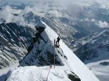 Немецкий турист погиб под лавиной в Альпах