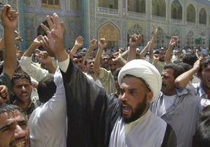 Иракских шиитов призвали отказаться от самоистязания
