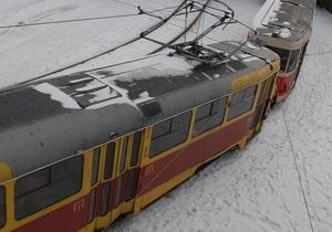 Сегодня трамвай №5 совершит свой последний рейс по Набережному шоссе в Киеве