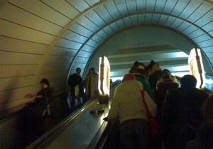В 2012 году в киевском метрополитене травмировалось 70 пассажиров