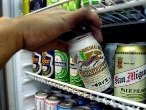 Импорт пива в Украину в январе сократился на 87,1%