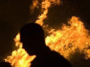 В Деснянском районе Киева горели балконы