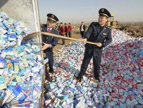 В Китае казнили виновников меламинового скандала