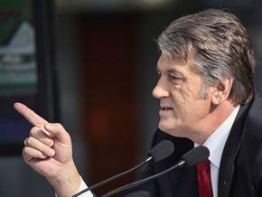 Ющенко: Темники Медведчука бледнеют в сравнении с методами Тимошенко