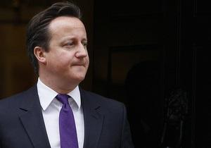 Кэмерон в парламенте назвал своего оппонента  идиотом