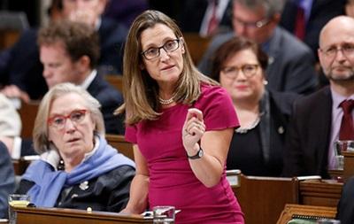 Новая глава МИД Канады оказалась под российскими санкциями