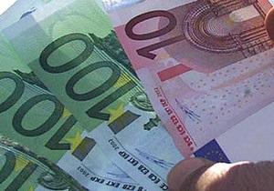 Сегодня евро на межбанке упал на 15 копеек