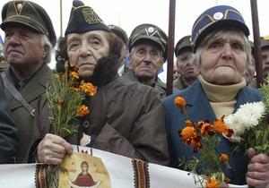 На Майдане Незалежности в Киеве почтили память Шухевича
