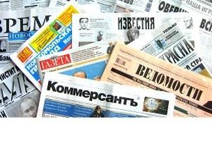 Пресса России: худший год для Путина?