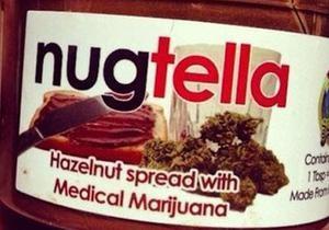 Наркотическая Nutella. В Калифорнии продают шоколадную пасту с медицинской марихуаной
