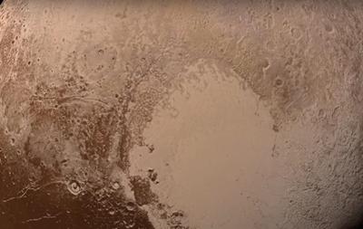 Появилось цветное видео  посадки  New Horizons на Плутон